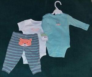3d60a277126fd NEW Carter's 3-Month Baby Boy 3-Piece