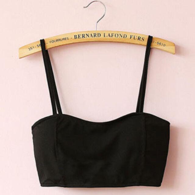Popular Sexy Women Padded Bra Tops Bustier Cutout Sport Vest Crop Top