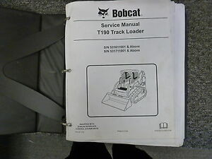 Bobcat t190 serial number decoder | Serial Number Location