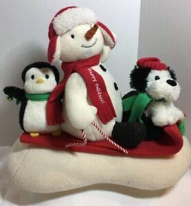 Hallmark-Jingle-Pals-Plush-Singing-Snowman-Penguin-Dog