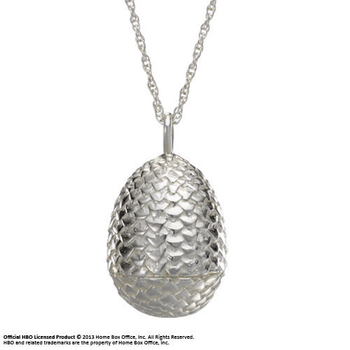 Game of Thrones Sterling Silver Dragon Egg Necklace Daenerys Targaryen