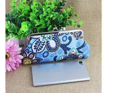 58a64b8223bfd Tasche Geldbörse Clutch Blumen bunt Tasche mini gemustert Kosmetiktasche  klein ...