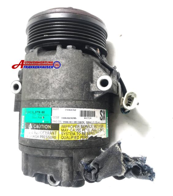 Opel Compresor Aire Acondicionado de Delphi TSP0155439 24464152