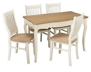 Juliette Shabby Chic Dining Set Table