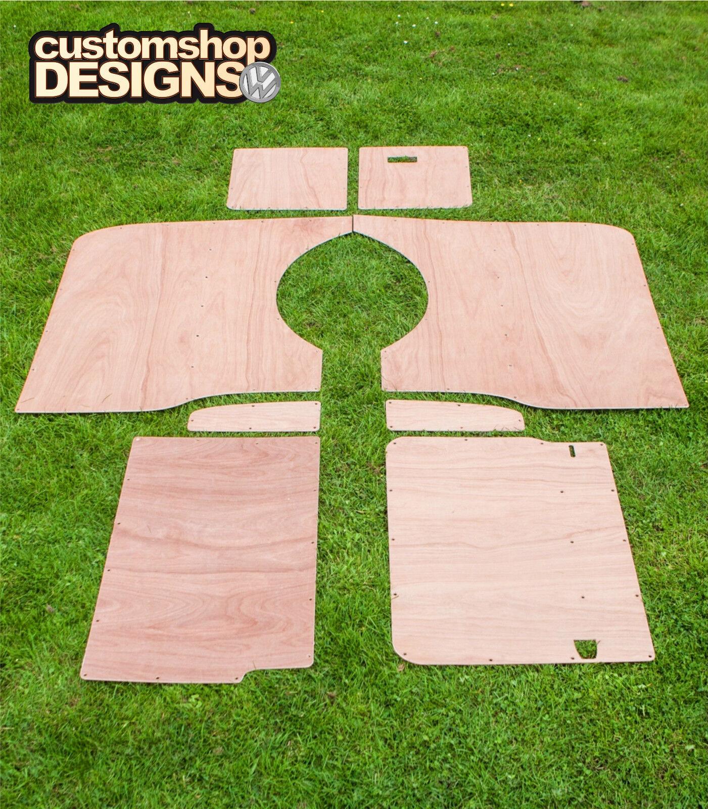 Vw T5 Transporter Lwb Camper Day Van Interior Panels 6mm Ply Lining Trim Kit For Sale Online
