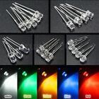 10pcs 500pcs 3mm/5mm 5 Color Water Clear LED Diodes Kit Assortment Lamp DIY US