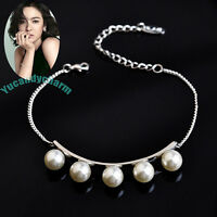 Korean Tv That Winter The Wind Blows Song Hye Kyo Pearl Bracelet White Rose Gold