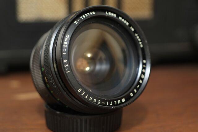 Sigma-XQ 28mm f/2.8 prime lens for Pentax K mount 35mm SLR cameras