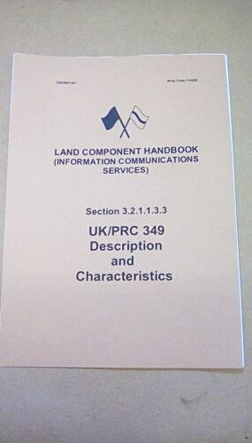 71632B321133 LAND COMPONENT HANDBOOK CLANSMAN UK//PRC349