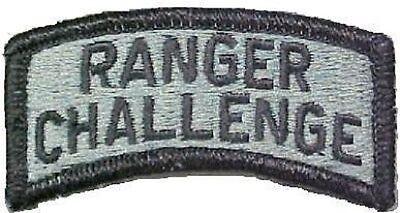 Zielsetzung Us Army Ranger Challenge Tab Patch Acu Uniform Ucp At Digital Ein Kunststoffkoffer Ist FüR Die Sichere Lagerung Kompartimentiert