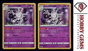 MINT Pokemon GALARIAN CURSOLA 079//192 Rebel Clash RARE HOLO