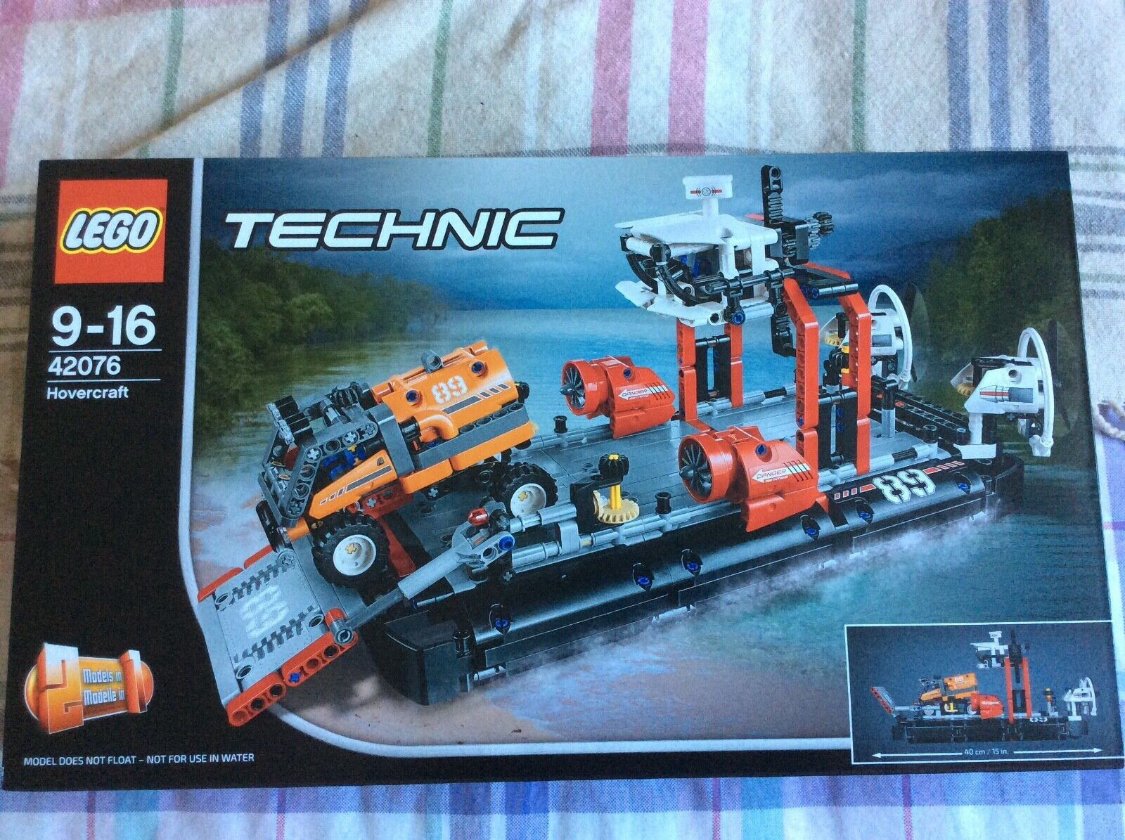 Lego Technic 42076 - Hovercraft - BRAND NEW FACTORY SEALED