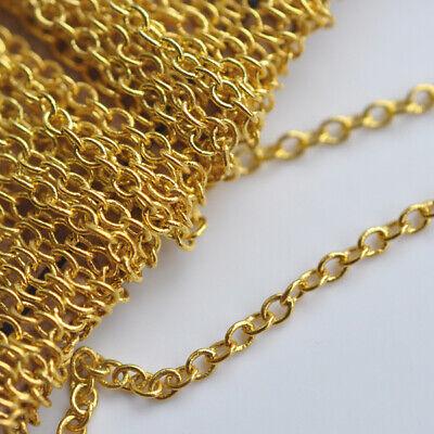 6 Meter Metallkette 10mm Silber Gliederkette Link Kette Chain Halskette K14#2