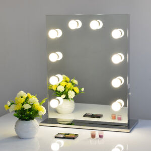 Frameless hollywood makeup mirror with lights stainless vanity image is loading frameless hollywood makeup mirror with lights stainless vanity aloadofball