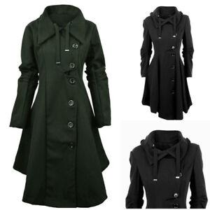 Herbst Saum JackeEbay Damen Mantel Asymmetrisch XTOZPiulwk
