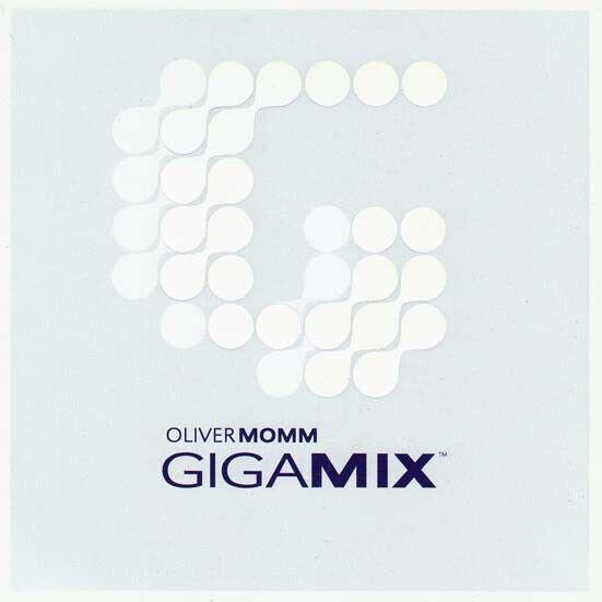 OLIVER MOMM Gigamix CD Album 1999 NEUWARE Promo ATB,SASH!,HUMATE,STORM,DJ JEAN