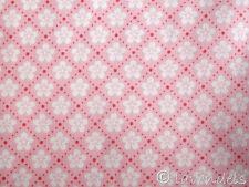 0,5m  Stoff Baumwolle ♥ Blumen Blümchen Blumen Muster rosa Mathilda´s Welt