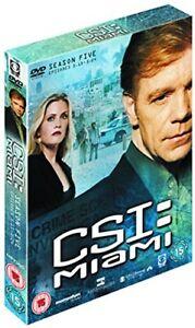 Csi-Miami-Temporada-5-Parte-2-DVD-2008-Episodios-13-24-Nuevo-y-sin-Abrir