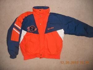 ab1689477d8 Details about Vintage Triple FAT Goose Chicago Bears NFL Parka Wnter Jacket  Rare XL Bear Down