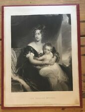 c1860 - The English Mother, After Sir Thomas Lawrence.