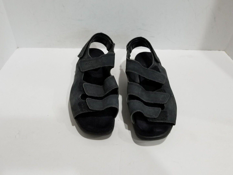 Ecco Womens Black Suede Sport M Sandals Size 41/10.5 M Sport 6074b3