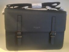 831cacaa695bc item 2 TED BAKER NAVY CROSSGRAIN SATCHEL BRIEFCASE NEW -TED BAKER NAVY  CROSSGRAIN SATCHEL BRIEFCASE NEW