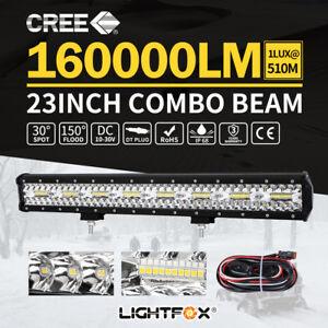 23inch-CREE-LED-Light-Bar-Spot-Flood-Driving-Lamp-Offroad-4WD-4x4-Truck-JEEP-SUV
