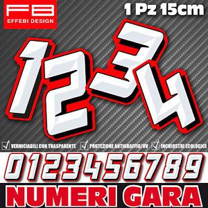 Adesivi-Stickers-NUMERO-GARA-NUMERI-Moto-Honda-Yamaha-Auto-Scooter-Quad-CIV-SBK