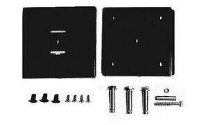 ROBUST-VESA-75-100-FIXED-SLIM-LOW-PROFILE-BLACK-WALL-MOUNT-SLIMEST-ON-MARKET