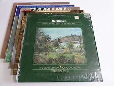 Lot Of 5 Classical LP Wholesale Beethoven Mozart Stravinsky Vinyl Record