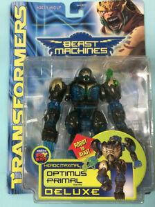 Transformers Beast Machines Optimus Primal Deluxe Heroic Maximal Hasbro 1999 New