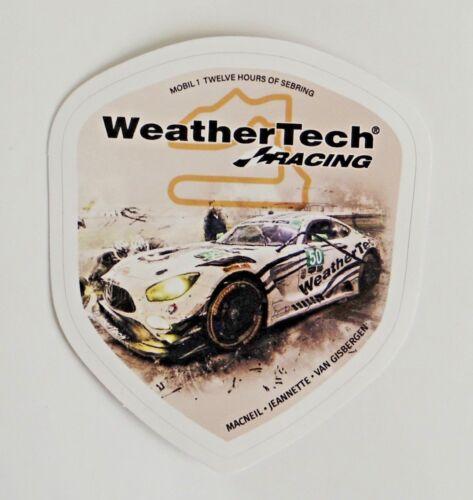 WeatherTech 12 Hours of Sebring AMG Mercedes Racing Vinyl Sticker Decal IMSA