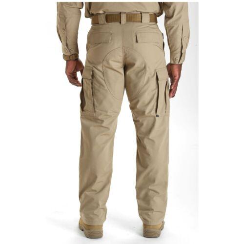 5.11 Tactical Men/'s Ripstop TDU Pants Style 74003 Waist XS-4XL Short-Long Inseam