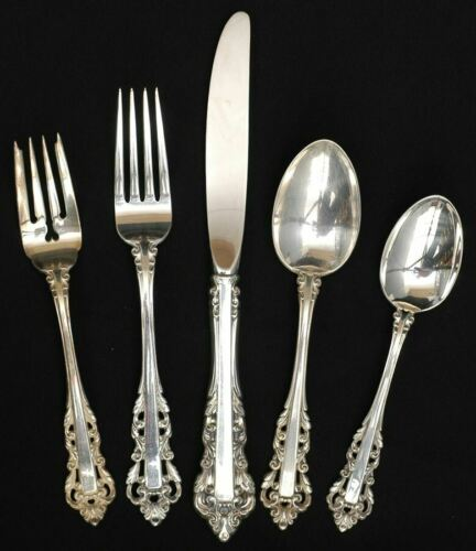 Gorham MEDICI STERLING 5 Piece Place Setting 6010323