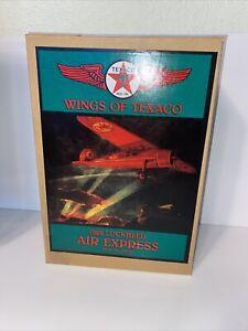 Wings of Texaco 1929 Lockheed Air Express Die Cast Airplane Bank. #1 In Series