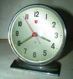 Vintage-alarm-clock-Diamond-Clock-Made-in-Shanghai-China-8