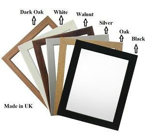 picture frame photo frame poster size frame wooden effect a1 a2 a3 a4 a5 a6 ebay. Black Bedroom Furniture Sets. Home Design Ideas