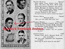 1920s Supreme Court Chief Justice Warren Burger High School YB~U.S. v. Nixon~Roe
