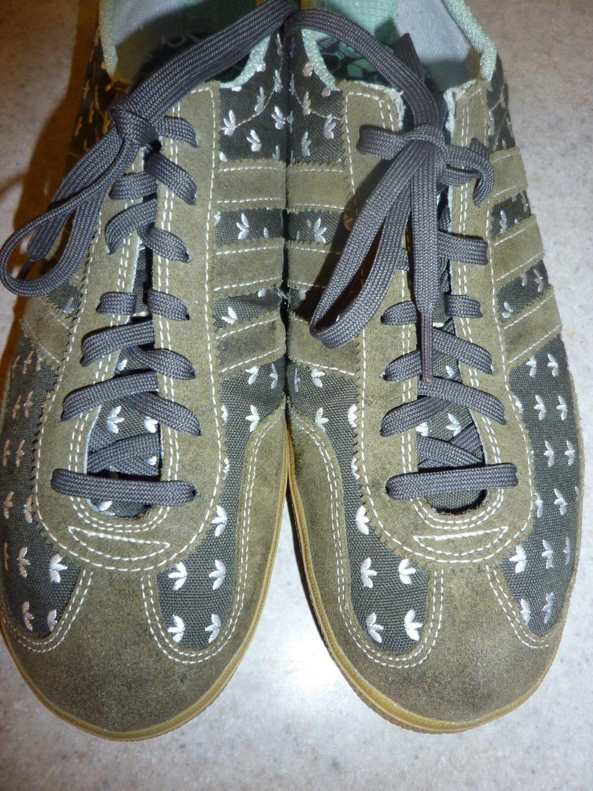 adidas   chaussures recyclées classics brodés feuilles de d'armée trèfle vert d'armée de 10 exc condé b074a3