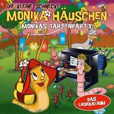 DIE KLEINE SCHNECKE MONIKA HÄUSCHEN-MONIKAS GARTENPARTY-DAS LIEDERALBUM  CD NEU
