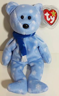 """TY Beanie Babies /""""1999 HOLIDAY TEDDY/"""" Christmas Bear MWMT MUST HAVE! RETIRED"""