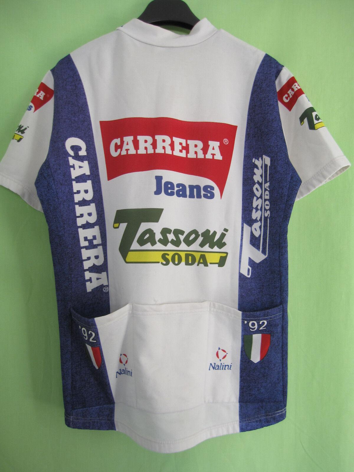 Maillot Cycliste Carrera Tassoni Soda tour 1992 1992 1992 Nalini Jersey cycling - L 6c2d21