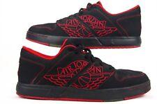 4b6fba612784 item 8 Nike Jordan NU Retro 1 Low Sneakers Men Shoes Black Red 317163-064  Size 11 (B
