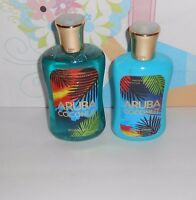 Bath & Body Works Original Aruba Coconut Body Lotion & Shower Gel Rare