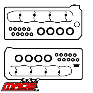 MACE ROCKER COVER GASKET KIT FOR FORD FALCON BA BF FG BOSS 260 290 5.4L V8