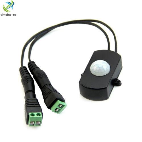DC 5-24V MINI Aotomatic PIR Infrared Motion Sensor Detector Switch for LED Strip