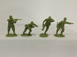 Conte-WWII-U-S-GI-039-S-Bloody-Omaha-4-Figures-Light-Green-Color-1-32-A