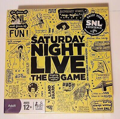 Novo Lacrado Saturday Night Live Curiosidades Jogo De Tabuleiro Improv Snl Programa De Tv idades 12