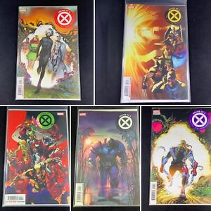 Lot-Of-5-House-Of-X-Issues-1-3-4-5-6-Marvel-Comics-2019-Hickman-Larraz