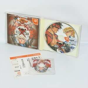 GUILTY-GEAR-X-First-Limited-with-Audio-CD-Type-A-Dreamcast-Sega-1261-dc